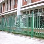 hàng rào sắt 9