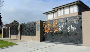 Mẫu hàng rào sắt CNC nghệ thuật đẹp