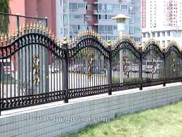 hàng rào sắt 6