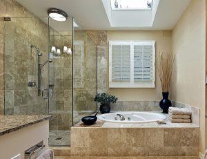 Mẫu phòng tắm kính nhà vệ sinh đẹp