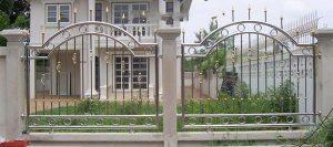 Mẫu hàng rào inox đẹp và mới nhất
