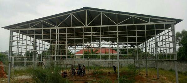 Làm nhà khung thép mái tôn - Cung cấp vật liệu, vật tư xây dựng