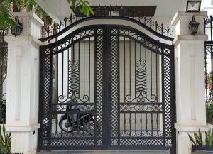 Mẫu cửa cổng sắt mỹ thuật, sắt nghệ thuật đẹp