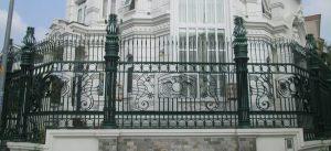 Hàng rào sắt nghệ thuật sắt mỹ thuật đẹp