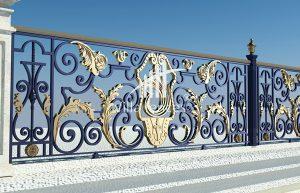 Mẫu hàng rào sắt nghệ thuật, sắt mỹ thuật đẹp