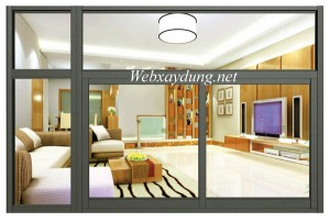Mẫu cửa sổ vách kính nhôm Xingfa cao cấp nhập khẩu