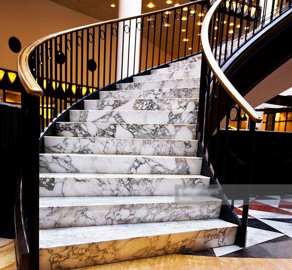 Tổng hợp 40 mẫu đá cẩm thạch marble ốp lát cầu thang đẹp nhất 2020