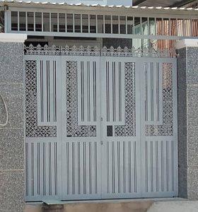 Mẫu cửa cổng săt hộp đẹp nhất