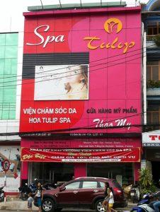 Mẫu biển quảng cáo thẩm mỹ viện spa làm đẹp