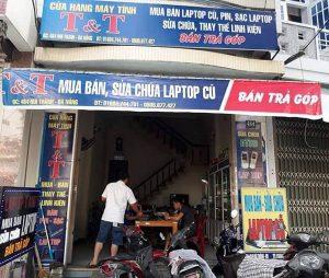 Biển quảng cáo cửa hàng máy tính điện máy