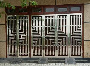 Mẫu cửa inox đẹp mới nhất hiện nay