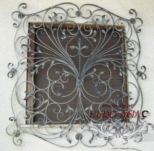 Mẫu cửa sổ hoa sắt mỹ thuật đẹp