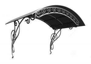 mẫu mái hiên, mái che sắt nghệ thuật đẹp