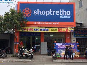 Biển quảng cáo shoptretho