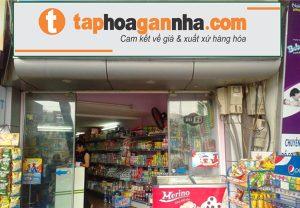 Mẫu biển quảng cáo cửa hàng tạp hóa đẹp