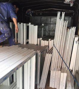 Làm cửa nhựa lõi thép tại hải phòng