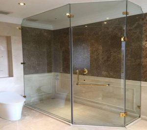 Mẫu phòng tắm kính, vách kính tắm đẹp