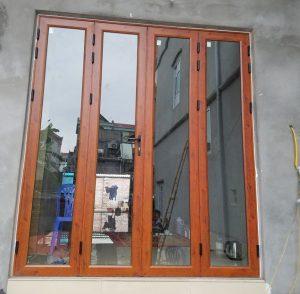 Mẫu cửa nhôm kính việt pháp đẹp