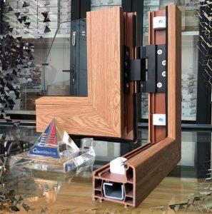 mẫu cửa nhựa lõi thép vân gỗ đẹp