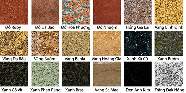 Báo giá thi công đá hoa cương Granite tự nhiên đẹp giá rẻ 2021